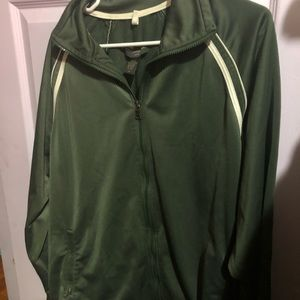 XL Banana republic green jacket